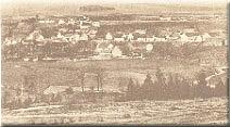 pohled na Nezvěstice z Varty r.1907
